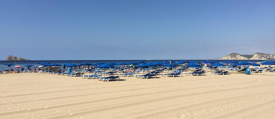 Plaża na Costa Calida
