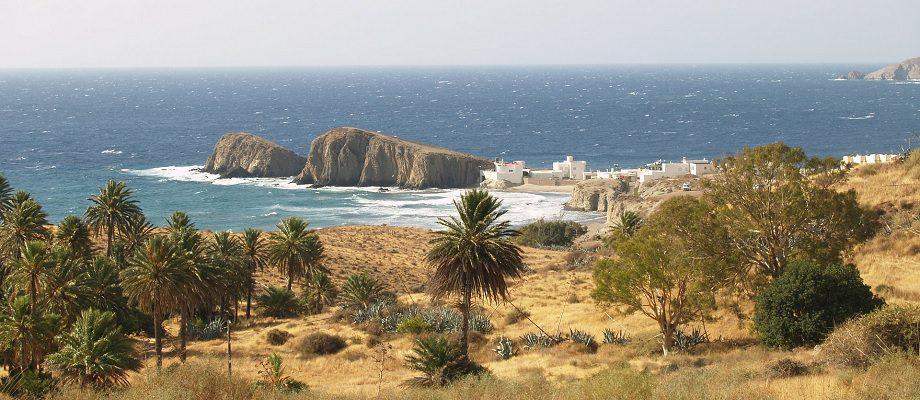 Cabo de Gata na Costa de Almeria